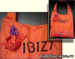 """Размер 37х35 см, ткань сумочная.  Весь декор, вышивка произведены бисером полностью вручную.  Сумка  """"IBIZA """" ."""